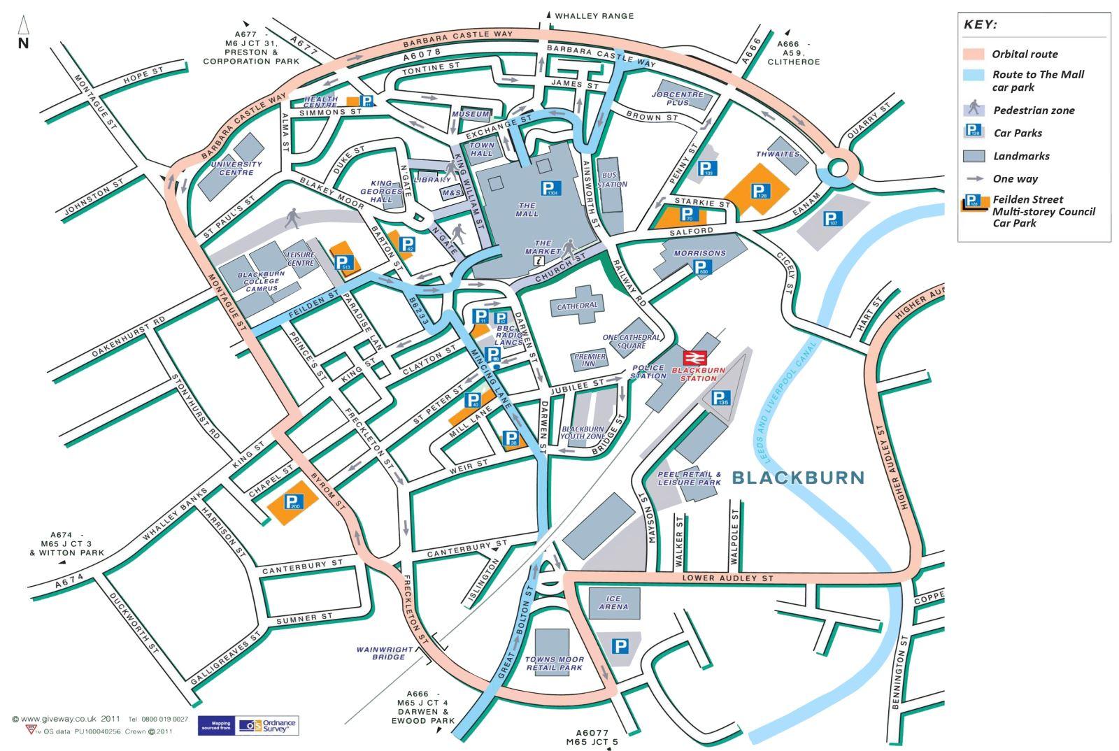 Blackburn Mall Car Park