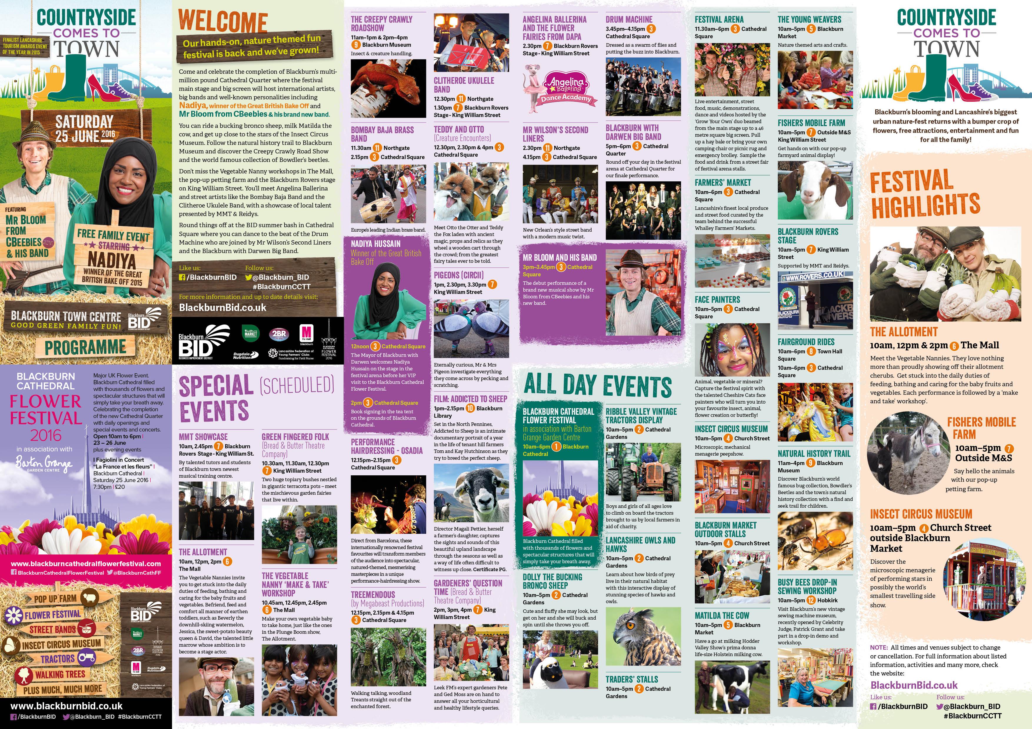 BID CCTT 2016 Programme Events