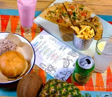 Escape to Turtle Bay this half term with free drinks for grown ups with every kids meal!