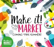 Keep the kids crafty this summer at Blackburn Market!