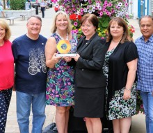 Recognition for the BID's success in Blackburn at The Hive Awards