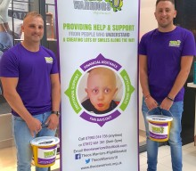 Jason and his pals set to reach new heights for children with cancer
