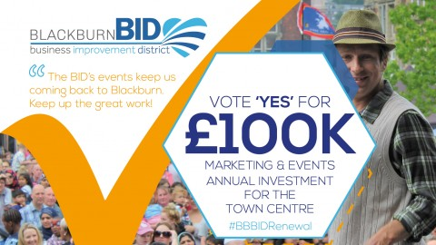 Marketing & Promoting Blackburn with Events and BID Initiatives