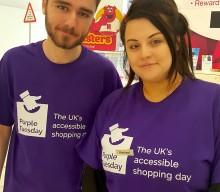 The Mall Blackburn celebrates Purple Tuesday