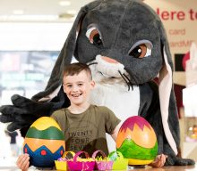 Kids get cracking with free crafts at The Mall