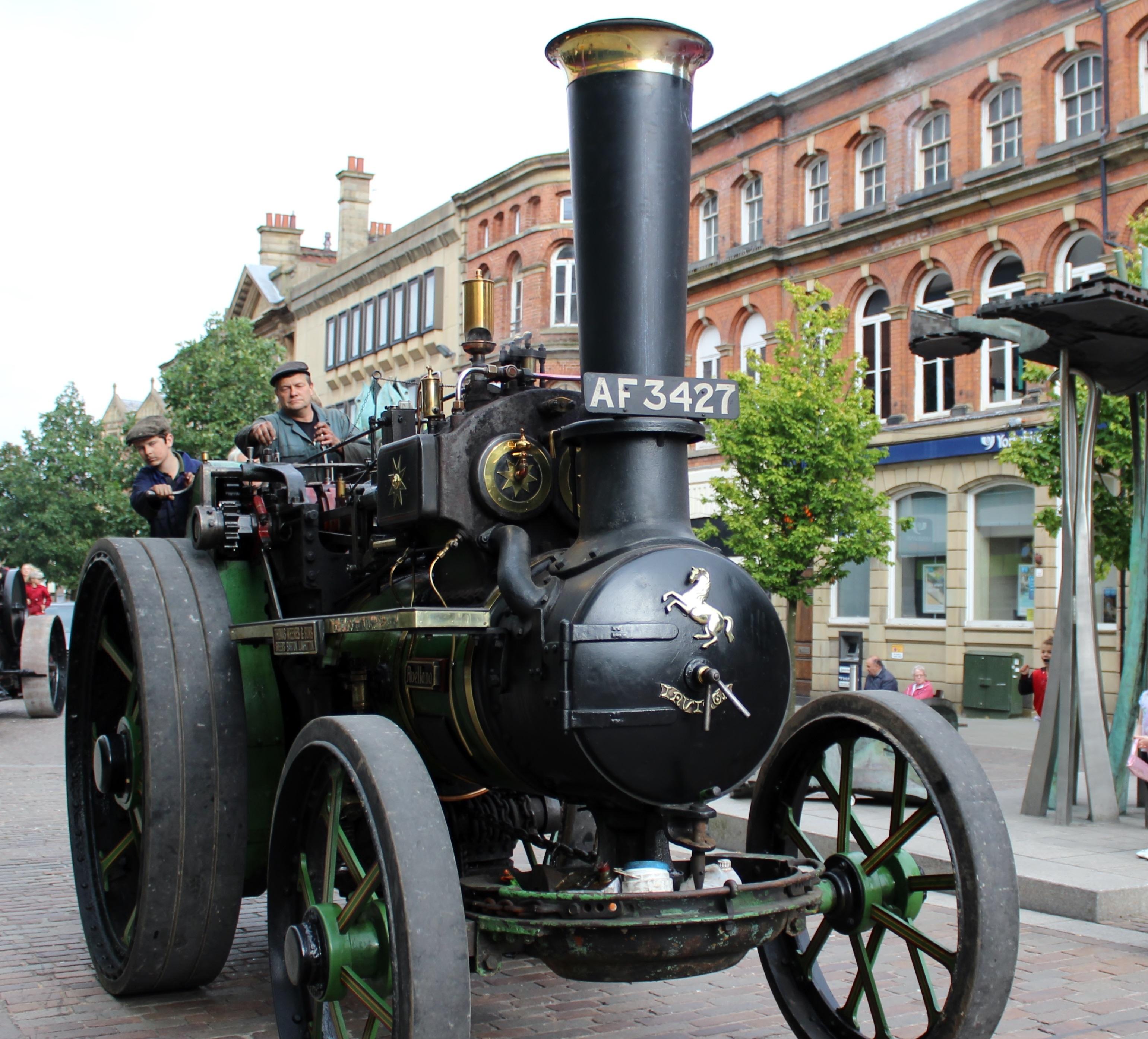 Steam Sunday Blackburn
