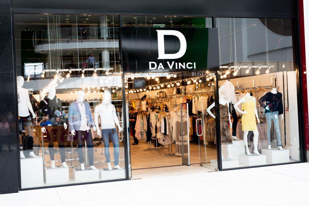 The DaVinci store in The Mall Blackburn
