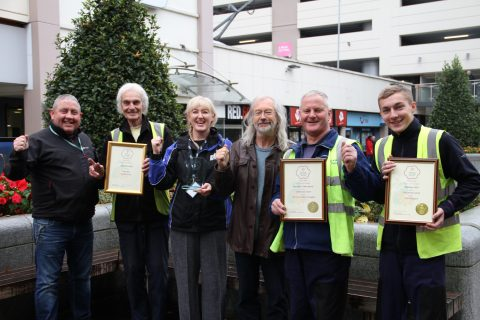 Blackburn In Bloom team